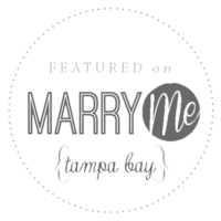 Featured by Marry Me Tampa Bay