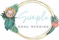 Simple Oahu Wedding logo