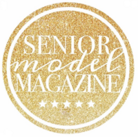 Featured in Senior Model Magazine