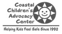 A grayscale logo for Coastal Children's Advocacy Center.