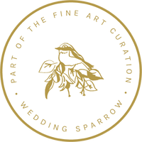 Marinella de castro Fine-Art-Curation wedding sparrow