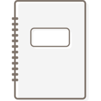 White notebook-256px