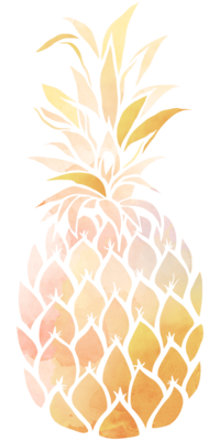 PineappleWatercolor_PinkYellow
