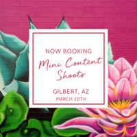 Mini Content Shoot - Gilbert, Arizona