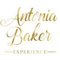 Antonia Baker Experience Logo Title - Vertical