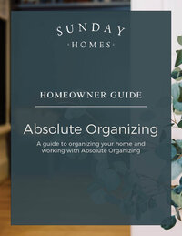 Guide Cover. Absolute Organizing