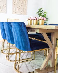 diningroom-blue-velvet-chairs-modern-decor