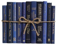 navy books tied