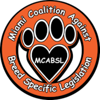 Make a donation to miami colition against breed specific legislation