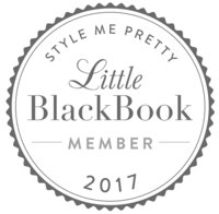 Little Black Book Style Me Pretty Bluebird Paper Company