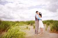 Beach Wedding in Grayland WA by Juli Bonell Photography