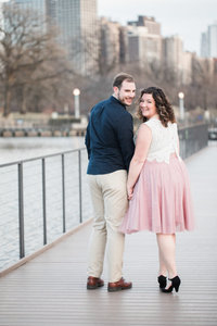 Engagement session in Lincoln Park, Chicago