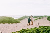 Surprise proposal at Turtle Bay Resort on Oahu