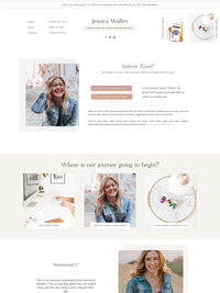 Young Living Website Template 3