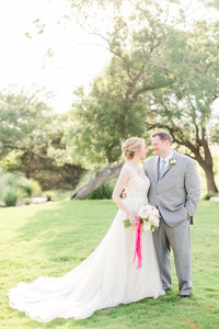 Brittany and John boerne milestone wedding