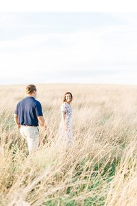 Pennsylvania Countryside Engagement Session by Emi Rose Studio