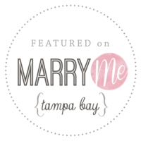 Marry Me Tampa Bay Wedding. Tampa Weddings. Weddings Published. Tampa Wedding Blog.