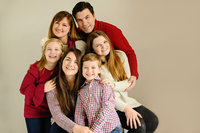 Large Family portrait by top photographer Melody Yazdani of Vienna studio Melody Yazdani Studios