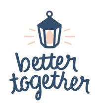 BetterTogether - Logo - Blue & Peach