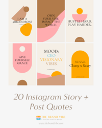 Insta Post - The Brand Vibe - Exclusive Wallpapers