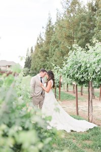 wine and rose winery wedding in Lodi CA-2