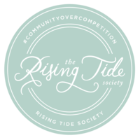 rising tide green badge