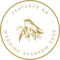 Wedding Sparrow Featured Badge