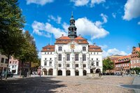 City hall in Luneburg, Germany
