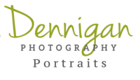 Logo with lime green and grey font