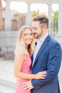 A Monument Avenue Engagement Session