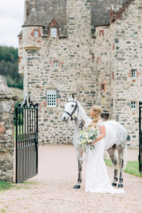 scotland wedding at forter castle shauna veasey photography