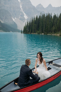moraine lake elopement photographers