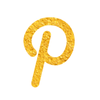 Gold Icon - Pinterest