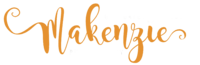 Makenzie Photography LOGO orange
