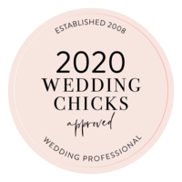2020 Wedding Chicks Approved Vendor