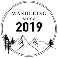 wandering weddings member badge