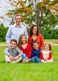 Vermont Family Portrait Photographer by Hall-Potvin Photography LLC