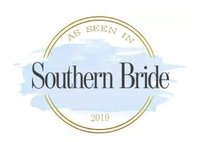 Featured in Southern Bride 2019 Print Magazine Badge - best wedding photographers in birmingham, alabama