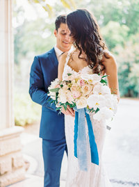 Blue Vintage Wedding