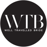Well Travelled Bride Badge