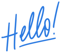 Handwriting_Hello_Blue