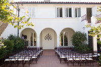 Ceremony Location at Darlington House San Diego Wedding Venue