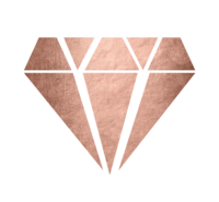 Rose Gold Solid Diamond