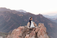International Wedding Photographer - Christine Sara - Malibu - Rocky Oak - Alex & MacKenna