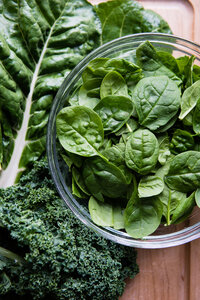 How To Freeze Leafy Greens-10
