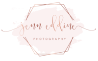 Logo of Greensboro Wedding  Photography  | Jenn Eddine Photography