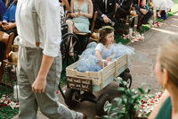 flower girl MM wagon