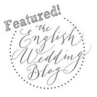 Featured on The English Wedding Blog