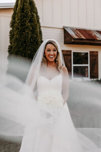 J.Michelle Photography is a photographer who captures a bride before her Athens, Ga wedding