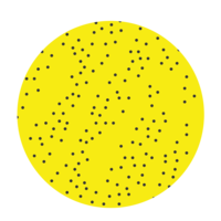 Yellow and dots-01